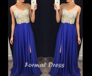 evening dress, prom dress, and Prom image