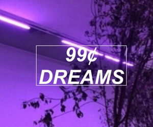 Dream, purple, and aesthetic image