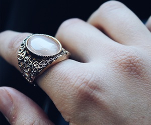 fashion, ring, and street style image