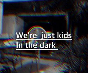 dark, kids, and grunge image