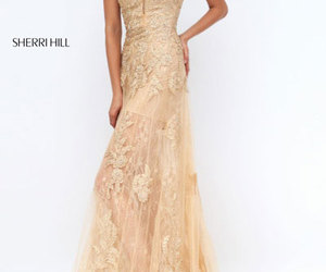 long lace prom dresses and 2016 beads evening gown image