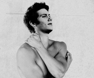black and white, mistery, and dylan obrien image