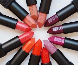 lipstick, nars, and beauty image
