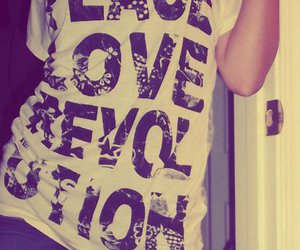 love, peace, and revolution image