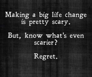 quotes, regret, and life image
