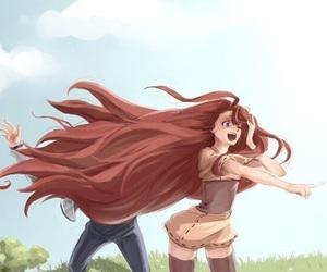 anime, naruto, and kushina image