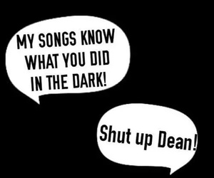 supernatural, dean winchester, and fall out boy image