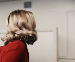 aesthetic, red, and sabrina spellman image