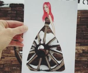 auto, platiado, and vestido image