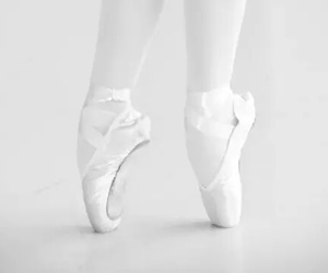 white, ballet, and dance image