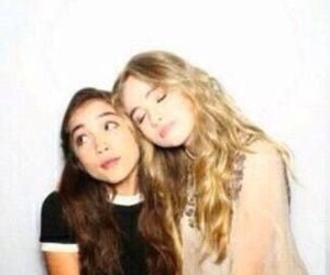 sabrina carpenter, rowan blanchard, and celebrities image