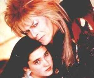 david bowie, jennifer connelly, and labyrinth image