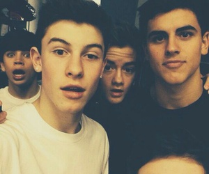 hayes grier, shawn mendes, and magcon image
