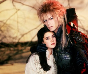 labyrinth, david bowie, and movie image