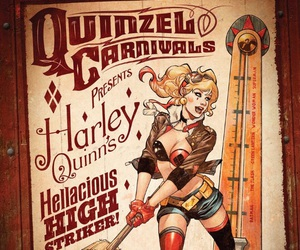 dc comics and harley quinn image