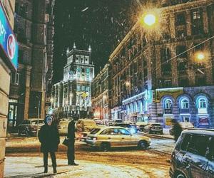 city, Inter, and night image