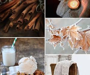 autumn, cozy, and Cinnamon image