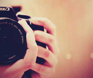 camera and hands image