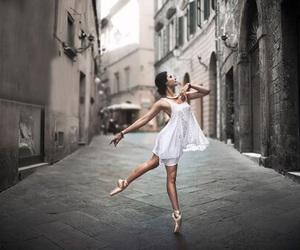 dance, ballerina, and ballet image