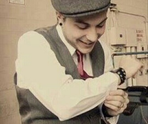 frank iero, cute, and my chemical romance image