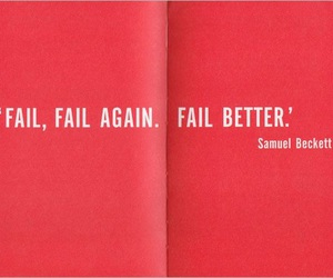 quote, red, and fail image