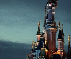 alice, castle, and fairytale image