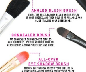 beauty, make up, and make up brushes image