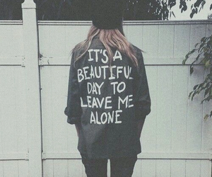 grunge, alone, and quotes image