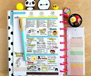 desk, diary, and kawaii image