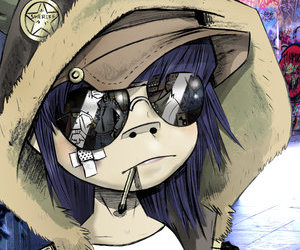 gorillaz and noodles image