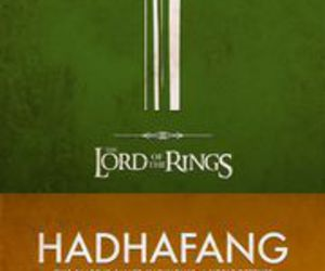 lord of the rings, LOTR, and swords image