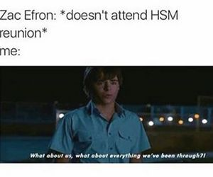 efron, funny, and high school musical image