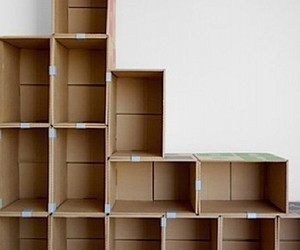 diy projects, cardboard crafts, and reuse cardboard image