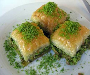baklava, Turkish, and delicious image