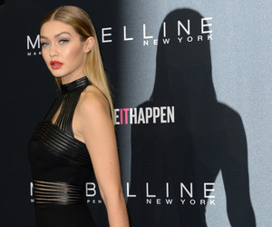 model, gigi hadid, and dress image