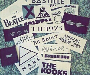coldplay, FOB, and paramore image