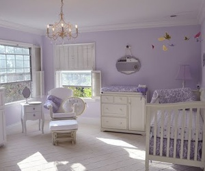 baby, decoration, and purple image