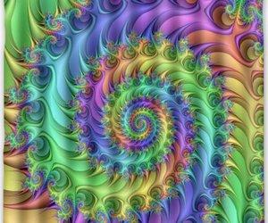 art, fractal, and light image
