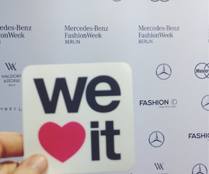berlin, fashion week, and we heart it image