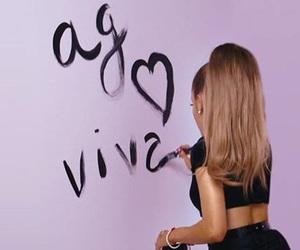 ariana grande, mac, and viva glam image