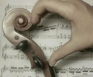 heart, music, and quotes image