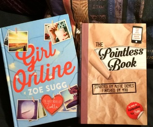 zoella, zoe sugg, and pointlessblog image