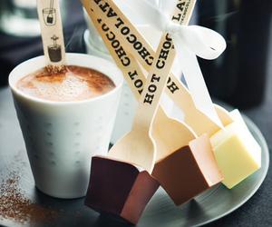 chocolate, hot chocolate, and food image