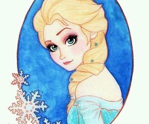 beautiful, frozen, and Queen image