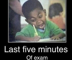 exam, funny, and lol image
