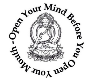 mind, quote, and Buddha image