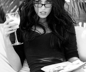 glasses, sexy, and wine image