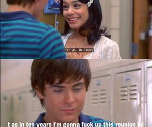 funny, zac efron, and high school musical image