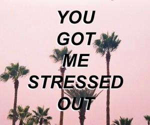 Drake, pink, and song lyrics image
