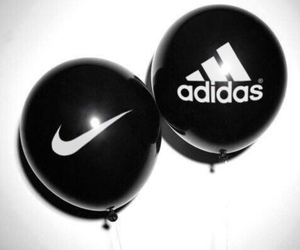 adidas, nike, and black image